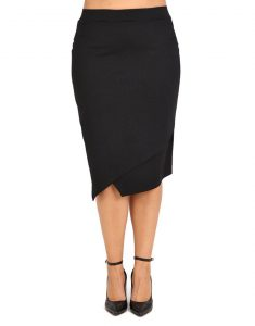 Μαύρη πένσιλ φούστα